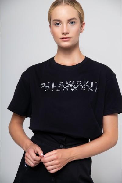 CZARNY T-SHIRT PILAWSKI
